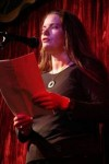 Open Mic Nights: Reading Poetry at the Wunderbar; photo credit Ciaran Fox
