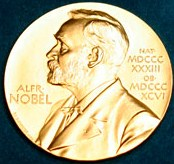 Nobel medal_flag