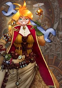 Agatha Heterodyne -- Girl Genius (© Studio Foglio)