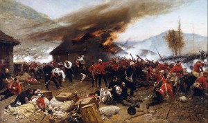 The Defence of Rorke's Drift, by Alphonse de Neuville, 1882