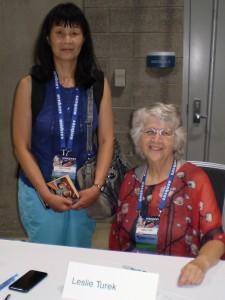 June & Fan Guest of Honor, Leslie Turek