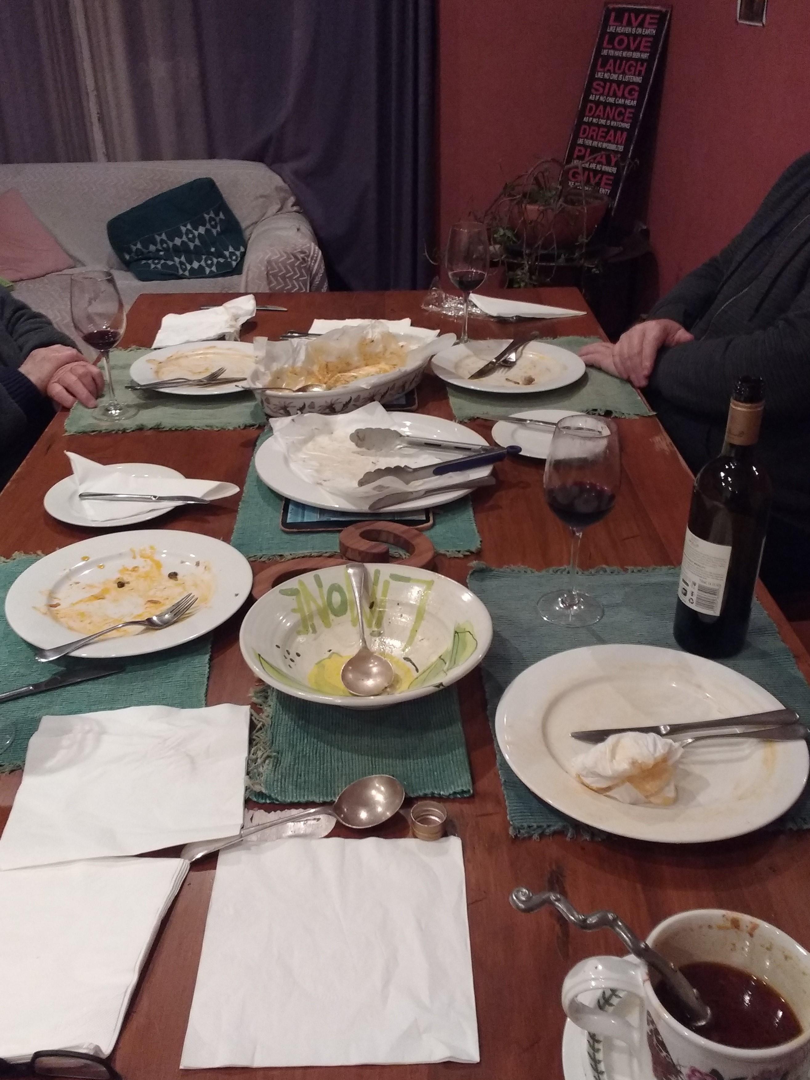Solstice dinner_after