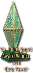 Sir Julius Vogel Award winner 2011 - Best Novel